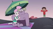 S3E19 Marco finds the demon couple cuddling