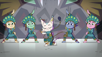 S4E10 Cat monster appears among other dancers