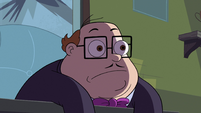 S2E38 Principal Skeeves listening to Star Butterfly