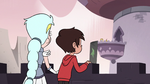 S3E7 Moon and Marco look over at Star and Ludo