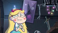 S4E4 Star Butterfly choking back tears