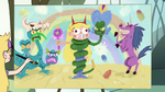 S1E14 Star Butterfly's painting