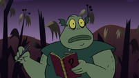 S2E20 Buff Frog takes out his notebook and pen