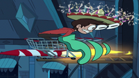 S1E7 Marco blasts off on a rocket