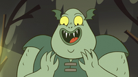 S2E12 Buff Frog smiling at his babies