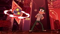 S2E17 Truth cube appears behind Marco Diaz