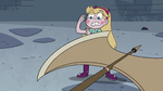S4E1 Axe swinging at Star Butterfly
