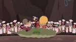 S4E2 Star, Marco, and River land on ground