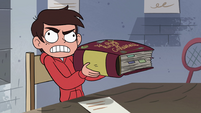 S4E16 Marco lifting the heavy rulebook