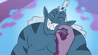 S3E29 Eclipsa stroking her monster husband's cheek