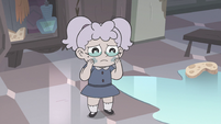 S3E33 Child Meteora makes her cheeks stop glowing