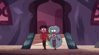 S4E12 Marco and Kelly leave hand-in-hand
