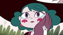 S4E23 Eclipsa cries and caresses Globgor's hand