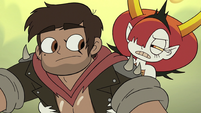 S3E22 Hekapoo riding with Adult Marco Diaz
