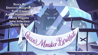 S4E7 Banner hanging over frozen Globgor