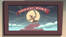 S2E22 Spider With a Top Hat's 'Dream Big!' poster