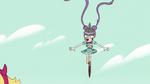 S2E9 Mina Loveberry levitates into the air
