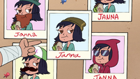 S4E26 Pictures of Janna in different disguises