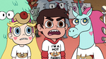 S2E13 Marco Diaz angrily answering 'yes'