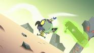 S2E35 Ludo levitates the book of spells uphill