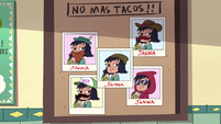 S4E30 Pictures of Janna in different disguises