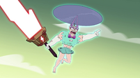 S4E35 Mina tells Solarian Army to find Eclipsa
