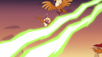 S3E38 King River and eagles dodge Meteora's beams