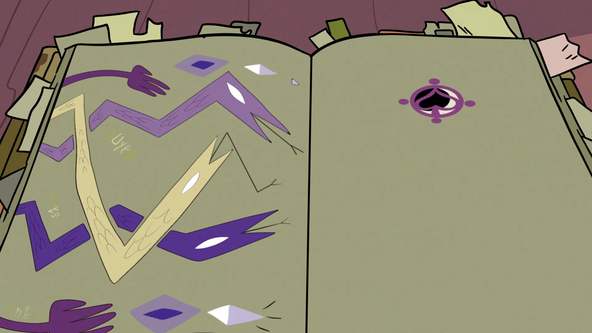 Image - S2E25 Star's book of spells opened up to Eclipsa's
