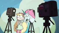 S4E19 Star and Pony Head behind the cameras