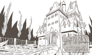 St. Olga's Reform School for Wayward Princesses concept art
