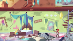 S3E37 Star and Marco in Star's destroyed room