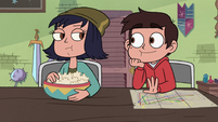 S3E23 Marco Diaz hanging out with Janna