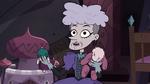 S3E24 Miss Heinous holding her old dolls