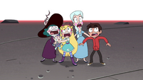 S4E35 Star and company screaming in terror