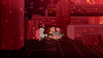 S2E17 Star Butterfly and friends trapped by pillars