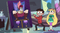 S3E32 Marco shocked by the realistic portrait