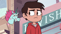 S2E24 Pony Head follows Marco Diaz through town