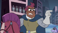 S3E15 Sir Stabby accuses Marco of calling Higgs a liar
