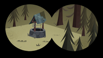 S4E8 Binocular view of the well and forest