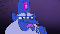 S2E1 Glossaryck stroking his beard