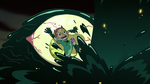 S3E7 Giant claw rises in front of Star Butterfly