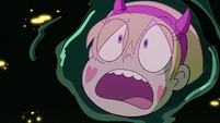 S3E7 Star Butterfly appear in a pool of black ooze