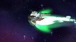 S4E14 Shooting star drags Ludo through space