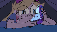 S3E9 Star Butterfly waiting for Janna to pick up