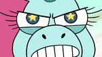 S2E13 Close-up on Pony Head's enraged face
