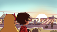S2E9 Star and Marco watching the sunset