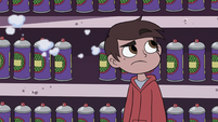 S3E15 Marco Diaz looking up at Higgs