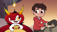 S3E22 Hekapoo inviting Marco Diaz to a tavern