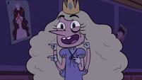 S3E16 Princess Arms laughing at Marco's joke