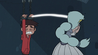 S3E7 Queen Moon cutting Marco Diaz's shackles